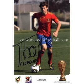 """""""LLORENTE"""" Campeón del Mundo 2010"""