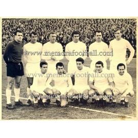Real Madrid CF 1964/65 fotografía original