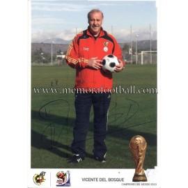 """""""VICENTE DEL BOSQUE"""" Campeón del Mundo 2010"""