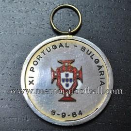 Portugal vs Bulgaria 06-09-1984