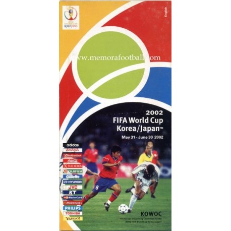 FIFA World Cup Korea/Japan 2002 Official Guide English version