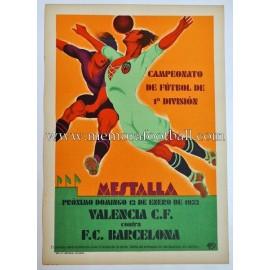 Valencia FC vs FC Barcelona 1932