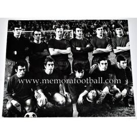 Foto Selección Española de Fútbol finales 60´s