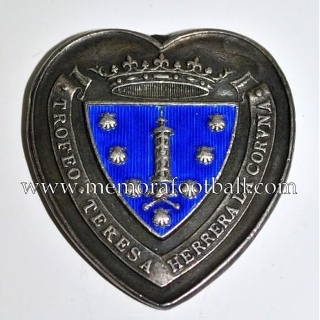 Medalla del Real Madrid 1949 Trofeo Teresa Herrera