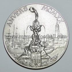 Selección Española de Fútbol 1920 Olimpiada de Amberes Medalla de Plata