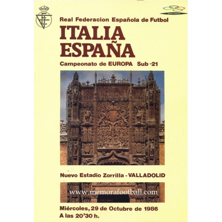Spain v Italy