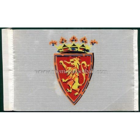 Real Zaragoza 1970s little flag