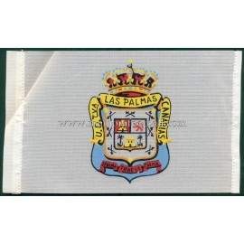 UD Las Palmas 1970s little flag