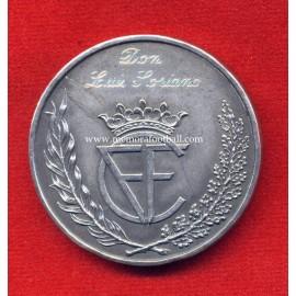 Castellana FA (Federación Castellana de Fútbol) Golden Jubilee 1913-1963 silver medal