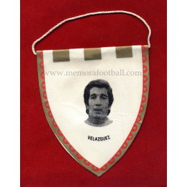 VELAZQUEZ - Real Madrid CF - 1960s Mini pennant