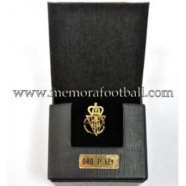Insignia de oro Sporting de Gijón