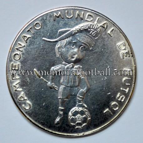 Medalla Campeonato Mundial de Fútbol Argentina 1978