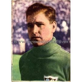 """""""BUSTOS"""" Sevilla CF 1950-52 cromo"""