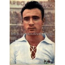 """NAVARRO"" Sevilla CF 1950-52 card"