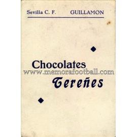 """GUILLAMÓN"" Sevilla CF 1950-52 card"