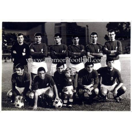 Fotografía del Real Oviedo 1969-70