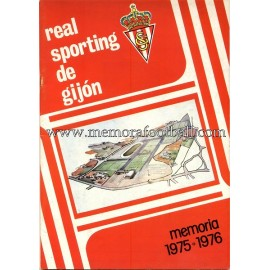 Sporting de Gijón 1975/76 Annual Report