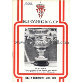 Boletín Informativo Sporting de Gijón 1979