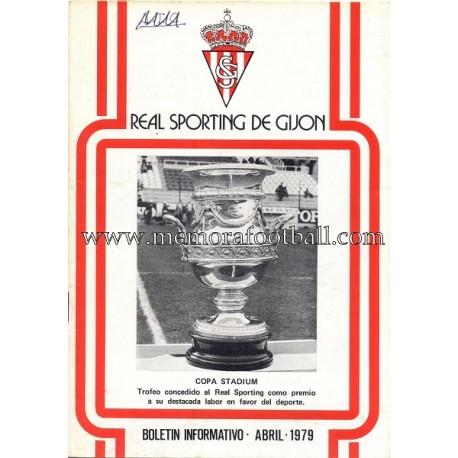 """""""Sporting de Gijón"""" 1979 newsletter"""