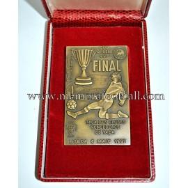 Medalla conmemorativa Final Recopa de Europa 1992