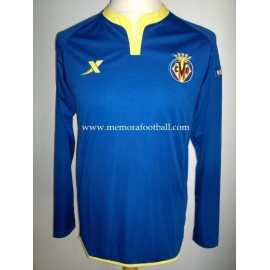 ROSSI nº22 Villareal CF 2011-2012 Champions League, match un worn shirt
