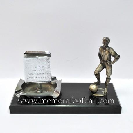 B.A.F.U. Challenge Cup 1936-37 JACK BELLAMY Trophy