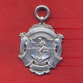 1904 British Silver Football Medal. V&S-ANCHOR-LION-E