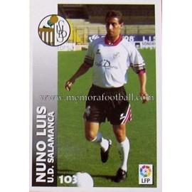 """NUNO LUIS"" UD Salamanca LFP 1999-2000"