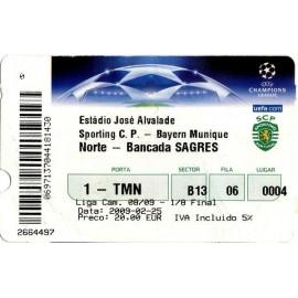 Sporting Clube Portugal vs Bayerrn München 05-02-2009 Champions League