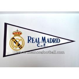 Banderín Real Madrid 1970s