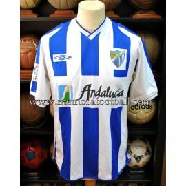 """GERARDO"" Malaga CF LFP 2002-03"