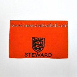 Brazalete de Steward 1960-70s Reino Unido