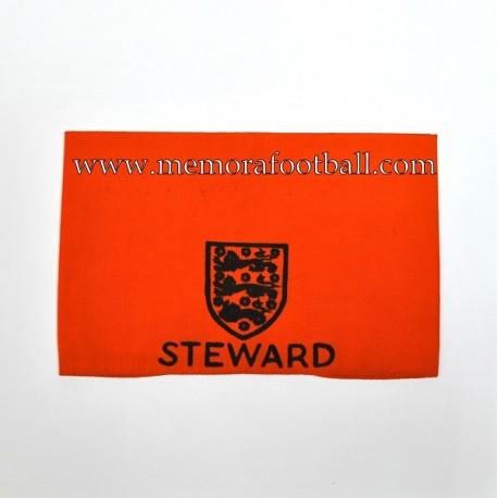 Steward Armband 1960-70s United Kingdom