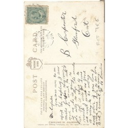 """Goal"" comic football post card. England 1900s"