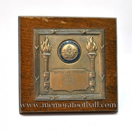 """""""KEN ASTON"""" Referee trophy 1955-56"""