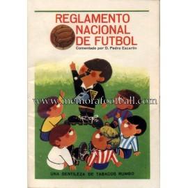 Reglamento Nacional de Fútbol, 1966
