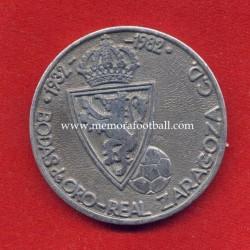 Spain v Republic of Ireland 27-04-1983 commemorative silver medal