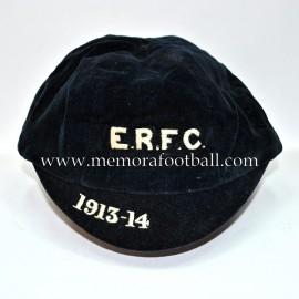 E.R.F.U 1913-14 Velvet Rugby / Football cap