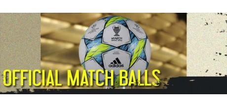 Balones de fútbol oficiales